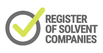 Register of Solvent Companies certificate holder